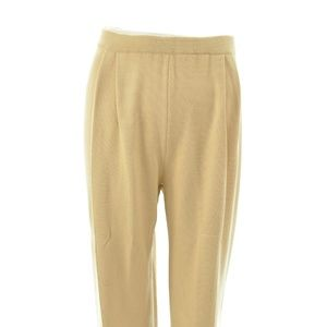 ST. JOHN COLLECTION BY MARIE GRAY TAN KNIT PANTS 2